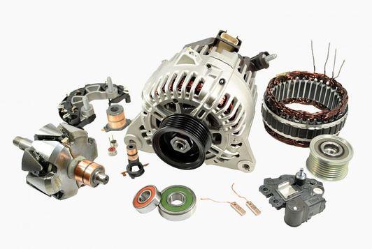 Детали к генератору Nissan